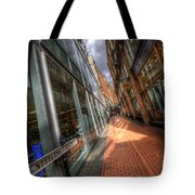 Needless Alley Tote Bag