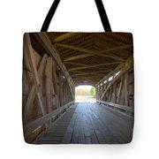 Neet Covered Bridge Interior Tote Bag