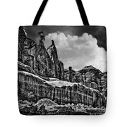 Nefertiti Arches National Park Tote Bag