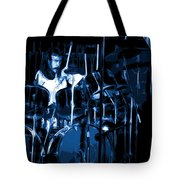 Blue Drums Tote Bag