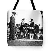 Nelson Vs. Hurley, 1902 Tote Bag