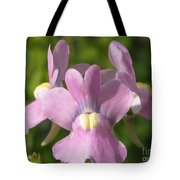 Nemesia Named Compact Pink Innocence Tote Bag