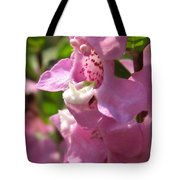 Nemesia Named Poetry Lavender Pink Tote Bag