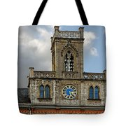 Neo-gothic Weimarer City Hall Tote Bag