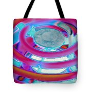 Neon Burner Tote Bag