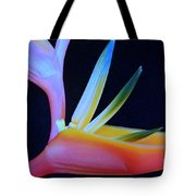Neon Heliconia Tote Bag
