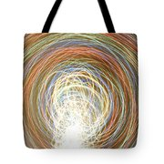 Neon Lights Spinning Tote Bag