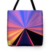 Neon Pinnacle Tote Bag
