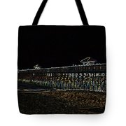 Neoned Pier Tote Bag
