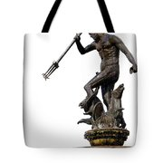Neptune God Of The Sea Tote Bag by Artur Bogacki