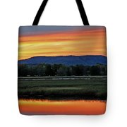 Nerepis Marsh At Dusk IIi Tote Bag