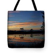 Nerepis Marsh Sunset Tote Bag