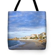 Nerja Beach On Costa Del Sol Tote Bag