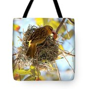 Nesting Instinct Tote Bag by Carol Groenen