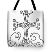 Nestorian Cross, 781 A.d Tote Bag