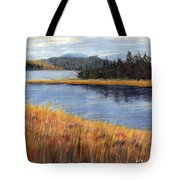 Nestucca River And Bay  Tote Bag