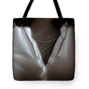 Netted Cleavage Tote Bag