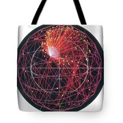 Neutrino Tracks Tote Bag