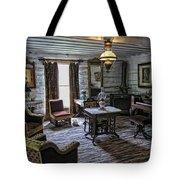 Nevada City Hotel Parlor - Montana Tote Bag
