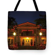 Nevada Governors Haunted Halloween Mansion Tote Bag