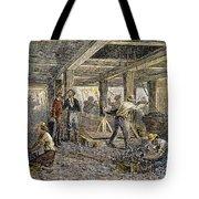 Nevada Silver Mine, C1880 Tote Bag