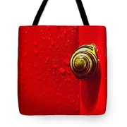 Never A Shortage Of #snails Back Here Tote Bag by Katie Cupcakes