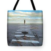 Never Ending Crosswalk Tote Bag