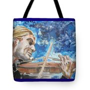 Never Forget The Sound Of Violin Tote Bag