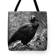 Nevermore - Black And White Tote Bag