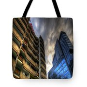 New And Old Living Tote Bag by Nathan Wright