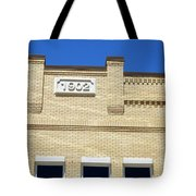 New Building Looking Old Tote Bag
