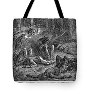 New England: Captives Tote Bag