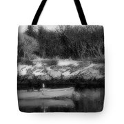 New England Skiff Bw Tote Bag