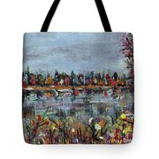 New Hampshire In The Fall Tote Bag