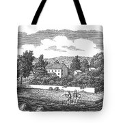 New Jersey Farm, C1810 Tote Bag