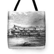 New Jersey: Train Wreck Tote Bag