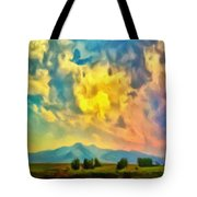 New Mexico Dawn Tote Bag