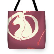 New Mexico Moon Rose Tote Bag