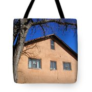 New Mexico Series - Adobe Building Tote Bag