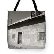 New Mexico Series - Adobe House In Truchas Tote Bag