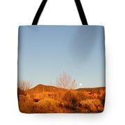 New Mexico Series - Moonrise Autumn Tote Bag