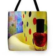 New Nail Polish Tote Bag
