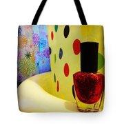 New Nail Polish Tote Bag by Katie Cupcakes