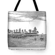 New Orleans, 1719 Tote Bag