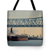 New Orleans Bridge Tote Bag