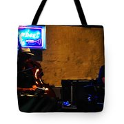 New Orleans Jazz Band Tote Bag