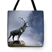 New Orleans Stag Statue Tote Bag