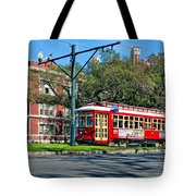 New Orleans Streetcar 2 Tote Bag