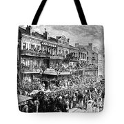 New Orleans Streetscene Tote Bag