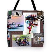 New Orleans The Birthplace Of Jazz Tote Bag